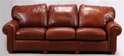 Pleasant Stickley Craftsman Leather Couch By Stickley Brothers Alphanode Cool Chair Designs And Ideas Alphanodeonline