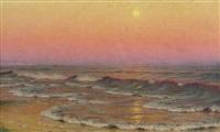 marina al tramonto by alexander harrison
