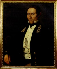 portrait of a u.s. naval officer by filippo gnaccarini