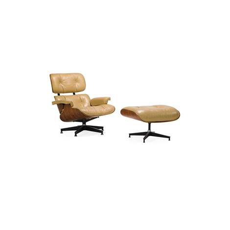Outstanding Lounge Chair And Ottoman No 670 And 671 By Charles And Ray Caraccident5 Cool Chair Designs And Ideas Caraccident5Info