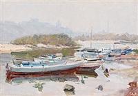 höstdagar på floden dnepr by nicolas gloutchenko