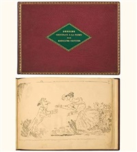caricatures (bound vol.; 25 illustrated pages) by rodolphe töpffer
