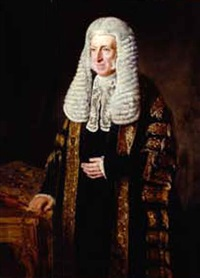 portrait of lord chancellor robert monsey rolfe cranworth by julius amatus roeting