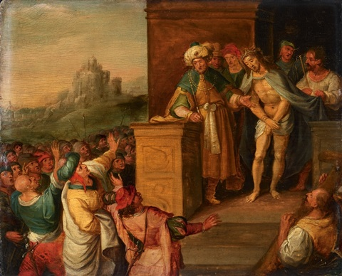 ecce homo by frans francken the younger