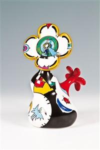 uhr-objekt tempo-floralis by otmar alt