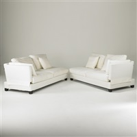 two piece sectional sofa with adjustable arms by sohoconcept