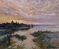 paisaje by antonio ros y guell