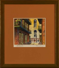 cabildo alley, old new orleans by charles oglesby longabaugh