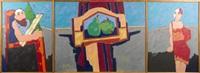 die räume (triptych) by dieter tyspe-vogt
