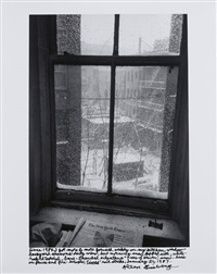 view out my kitchen window by allen ginsberg