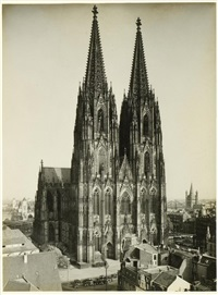 kölner dom, von westen by august kreyenkamp