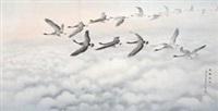 大雁远飞 by liu renjie