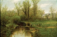 spring time by dubois fenelon hasbrouck
