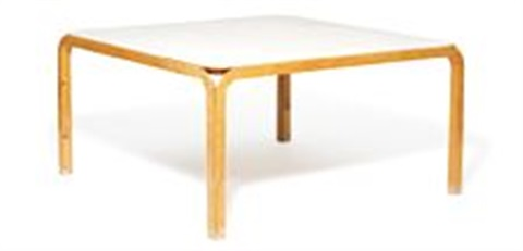 New angle dining table by j rn utzon on artnet for Table 140 x 70