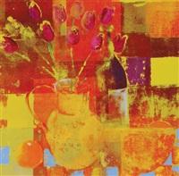 still life of flowers by david gordon hughes