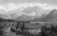 alpenlandschaft by théodore renkewitz