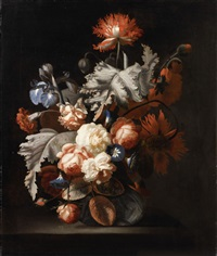 floral still life by simon pietersz verelst