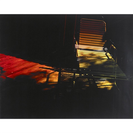 deck chair by mariah robertson