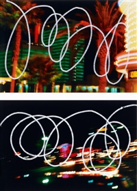 las vegas (2 works) by andrea ostermeyer