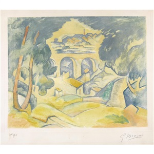 artwork by georges braque