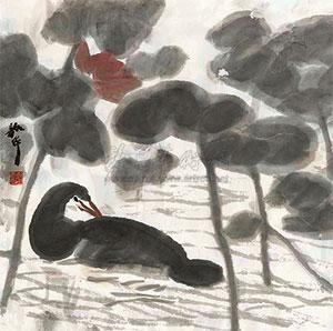 荷塘清趣 by zhou shaohua