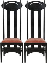 charles rennie mackintosh auctions results artnet page 7. Black Bedroom Furniture Sets. Home Design Ideas
