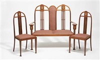 scottish manner furniture set (set of 3) by graham morton