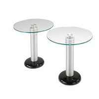 side tables (pair) by kaiser newman
