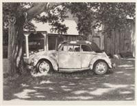 cyril david a tree and a car by cyril david