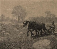 plowing by henry j(arvis) peck