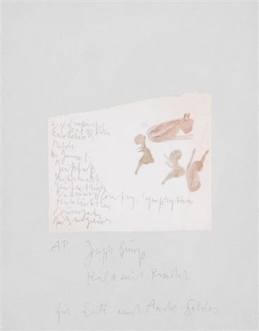 kalb mit kinder by joseph beuys