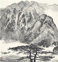 scenery of mount jinggang by wu guanzhong