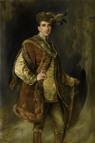 porträt eines ungarischen magnaten by joszi arpad koppay