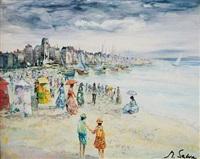 promenade à marée basse (pair) by marc selva