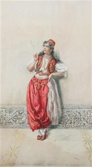 a pensive moment by pietro gabrini
