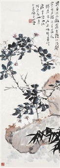 异香不散 (flowers) by qian ding, tang yun and zhu qizhan