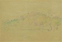 paesaggio by piero marussig