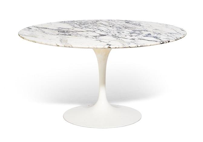 ROUND DINING TABLE, Tulip Model By Eero Saarinen On Artnet