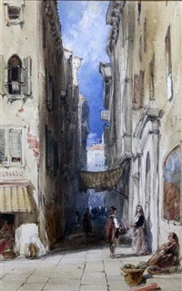 street in venice by james holland