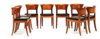 dining room suite (set of 11) by leon krier
