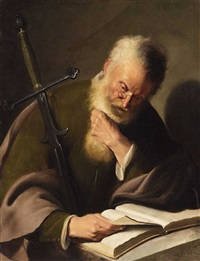 the apostle paul by jacques des rousseaux
