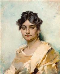 portrait einer italienierin by cecil van haanen