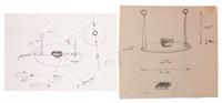 deux esquisses (2 sketches) by guillaume bijl