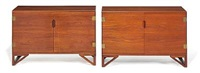 cabinets (pair) by svend langkilde