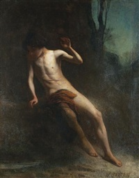 narcissus by william sartain
