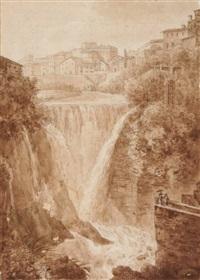 die cascade von tivoli by francesco fidanza
