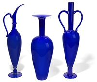 cobalt group (set of 3) by dante marioni