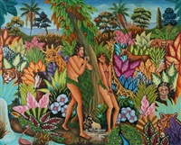 adam and eve by gesner abelard