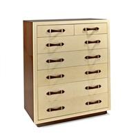 seven-drawer tall chest by ralph lauren