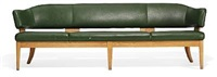 freestanding four seater sofa by kaj gottlob